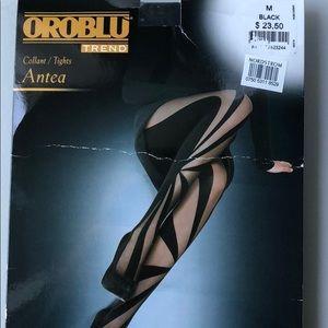 Oroblu black luxury hose/tights